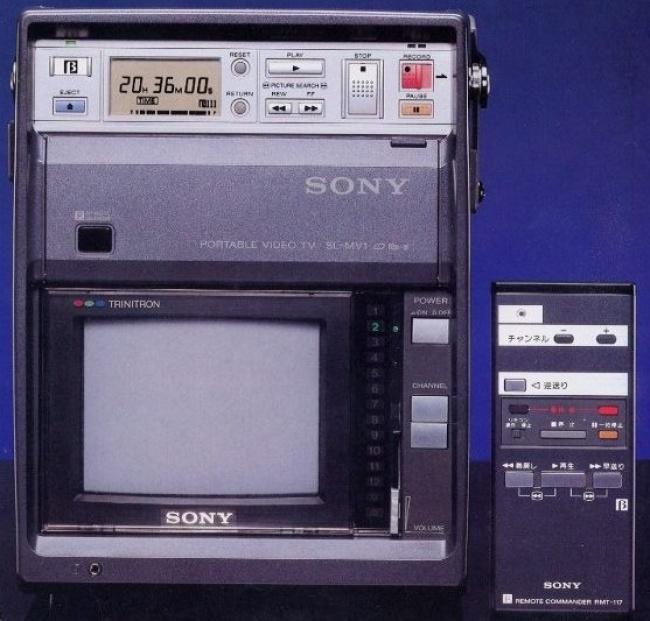 © Wikipedia Commons  Видеомагнитофон Betamax попал вмагазины в1975. Годом ранее Sony предста
