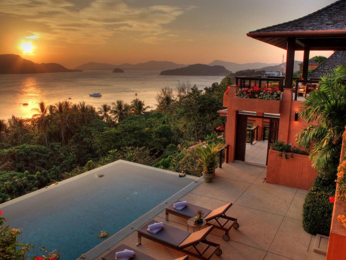 Вилла Киана (Villa Kiana) расположена в верхней части эксклюзивного мыса Панва, на юго-восточной око