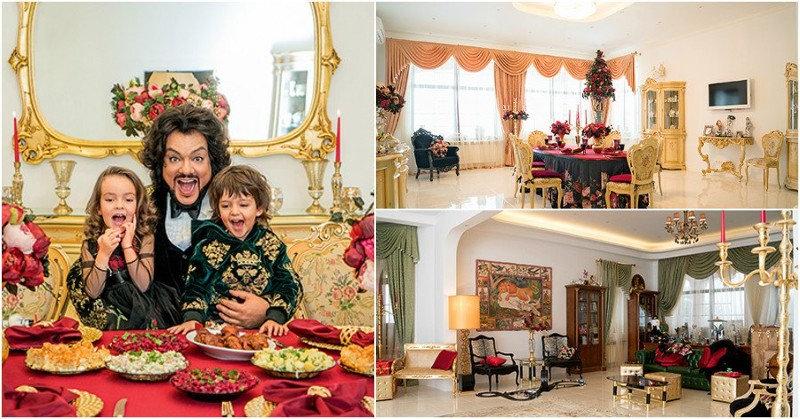 В загородном доме Филиппа Киркорова все изменилось с появлением детей: Аллы-Виктории и Мартина.