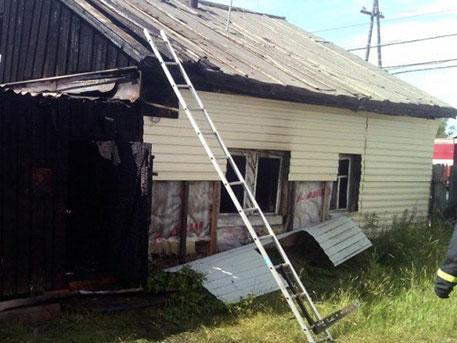 ВВилюйске впожаре частного дома погибло три ребенка