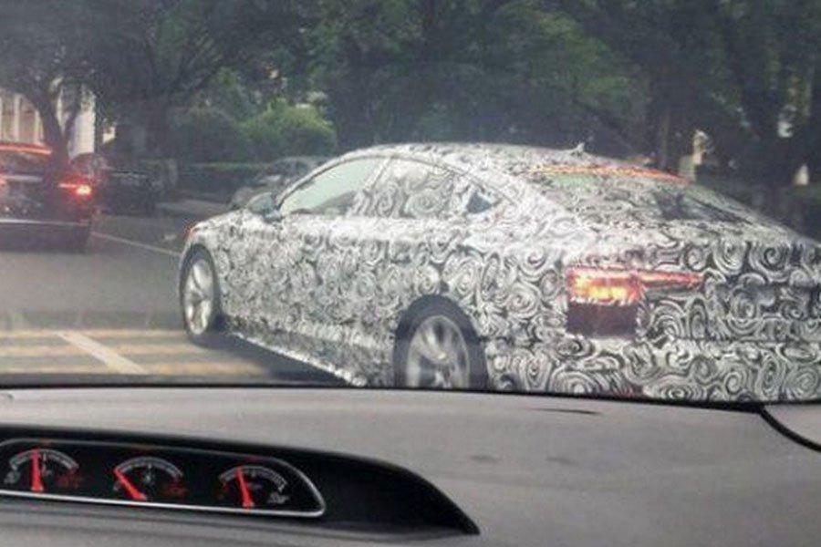 Обновленный Audi A5 Sportback замечен надорогах КНР