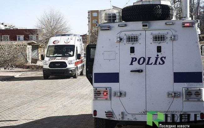 Погибли семь служащих службы безопасности— Теракты вТурции