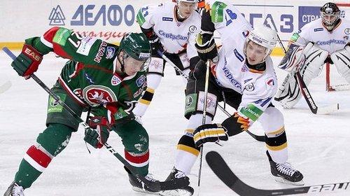 Буллит Ткачева принес «АкБарсу» победу над «Северсталью»
