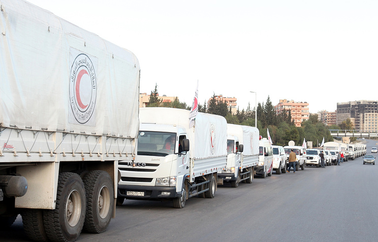 ООН остановила все гуманитарные операции вСирии
