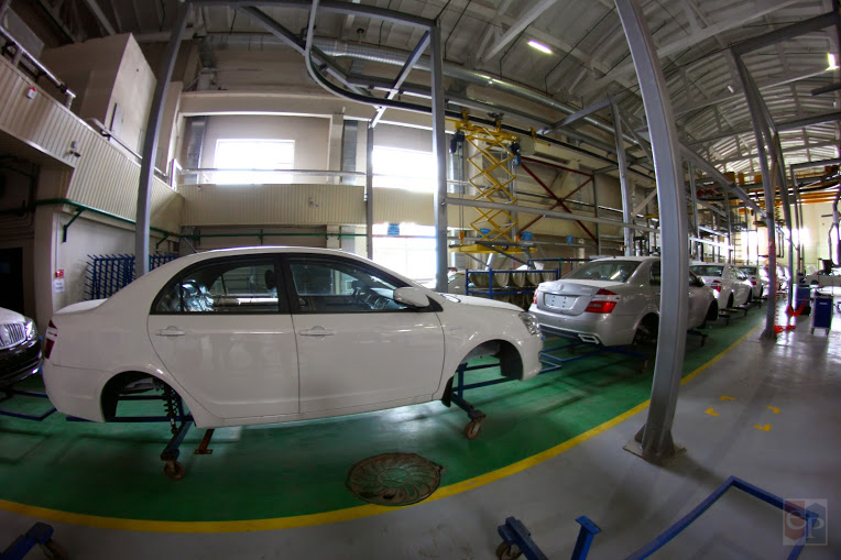 Китайские автомобили нановом заводе под Борисовом начнут собирать еще не вскором времени