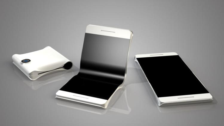 В этом году стартует производство первого «книжного» телефона Самсунг