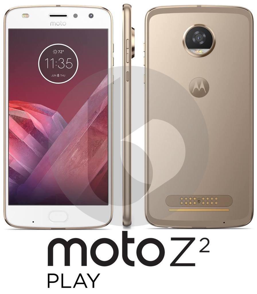 Moto Z2 Play будет тоньше иполучит чип Snapdragon 626
