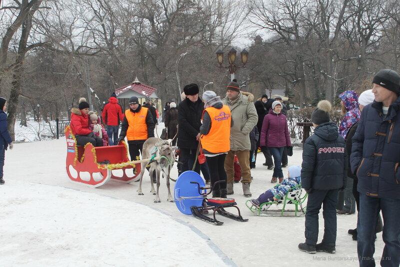 Комета, Саратов, городской парк, 02 января 2017 года