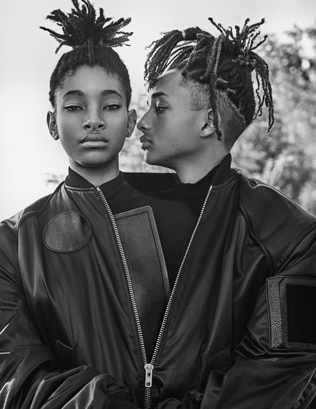 Willow & Jaden Smith Cover Interview Magazine September 2016 Issue