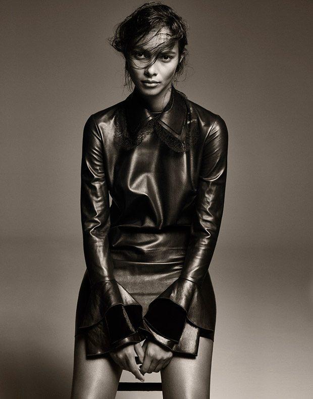 Supermodel Lais Ribeiro Models FW16 Looks for DuJour Magazine