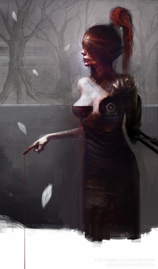 Hot Illustrations by Bastien Lecouffe Deharme