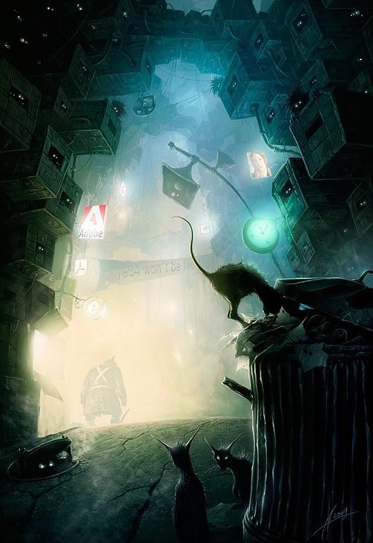 Must-see CG Art by Alexey Egorov