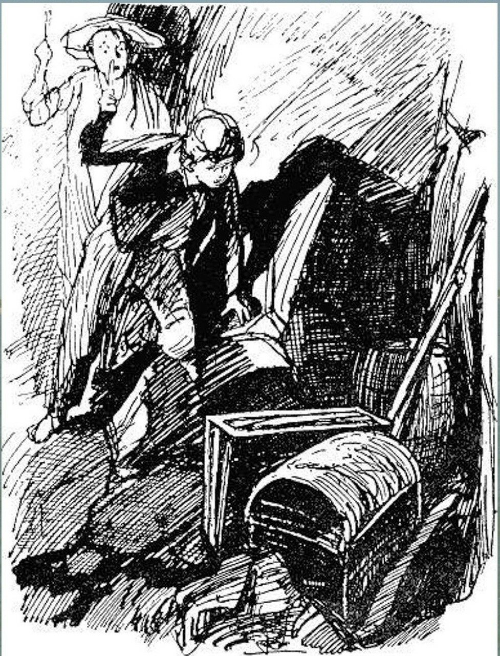 Иллюстрация В. Н. Горяева к пр-ю М.Твена Приключения Тома Сойера (43).jpg