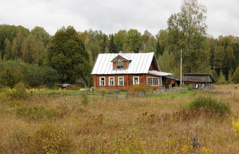 Домик к западу от станции Подсосенка