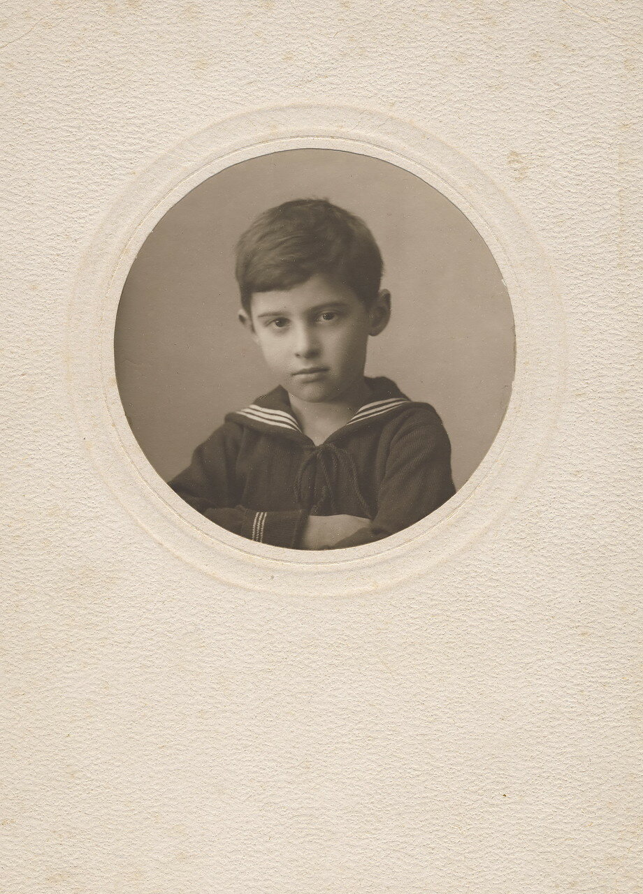 1925. Лев Гольдман - сын Евы Лясс