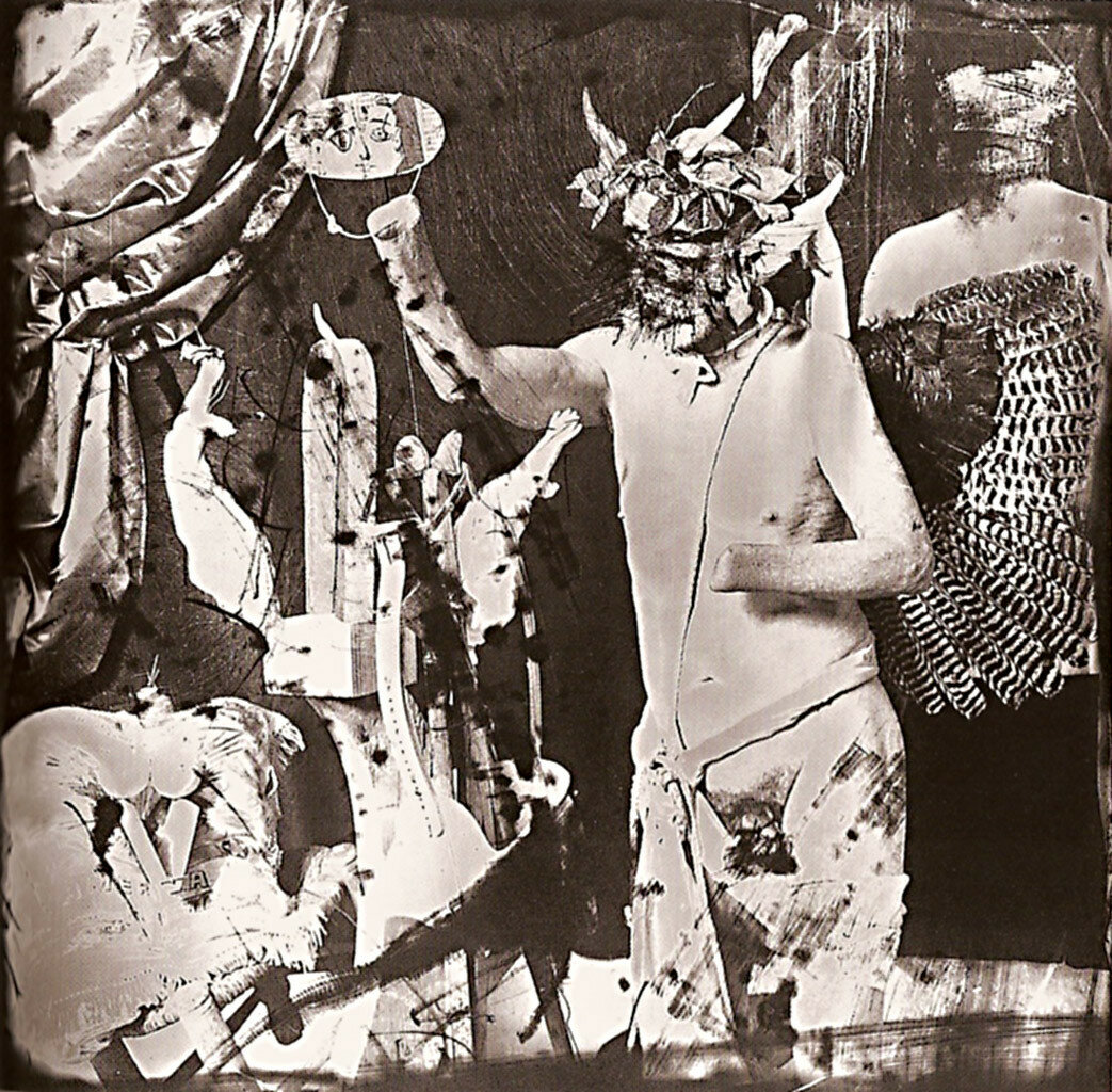1987. Нелепица Пикассо в стиле Гойи