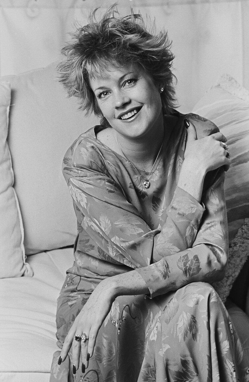 Actress Melanie Griffith Portrait Session