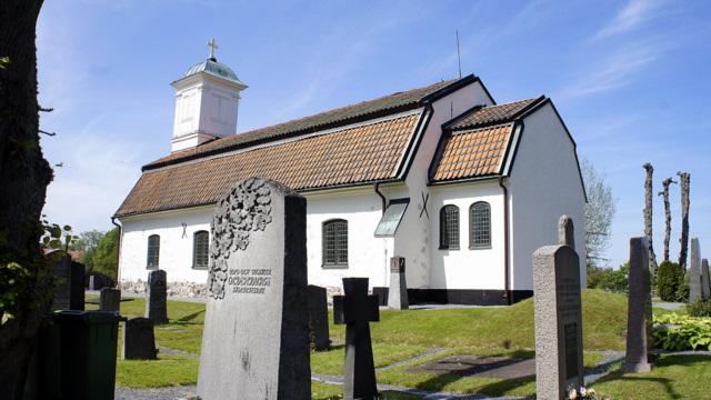 швеция, ферма, церковь