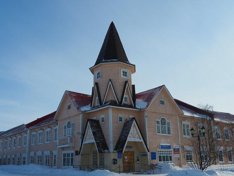 Здание главного почтамта Нарьян-Мара