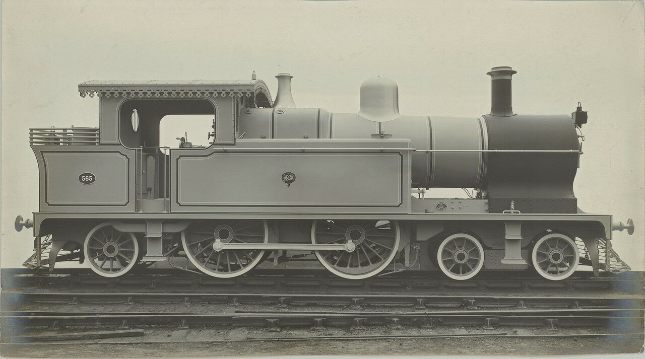 1907. Локомотив № 565 компании «North British Locomotive Company» из Глазго