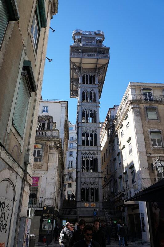 Визит в Португалию из Андалусии на автомобиле.  Лиссабон и Синтра, январь 2018.