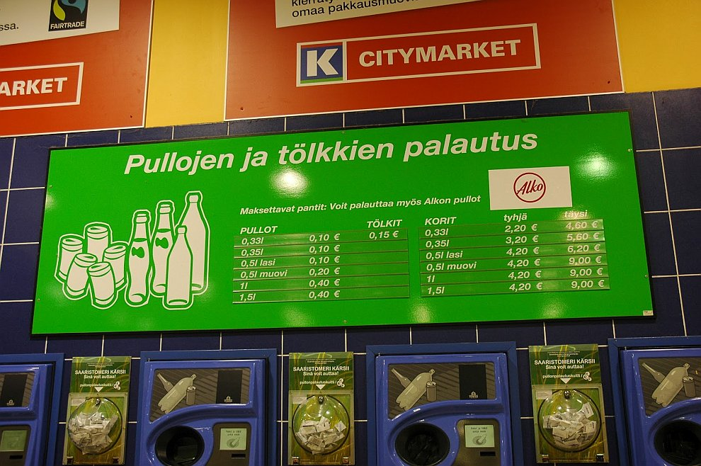 переработка утилизация Финляндия