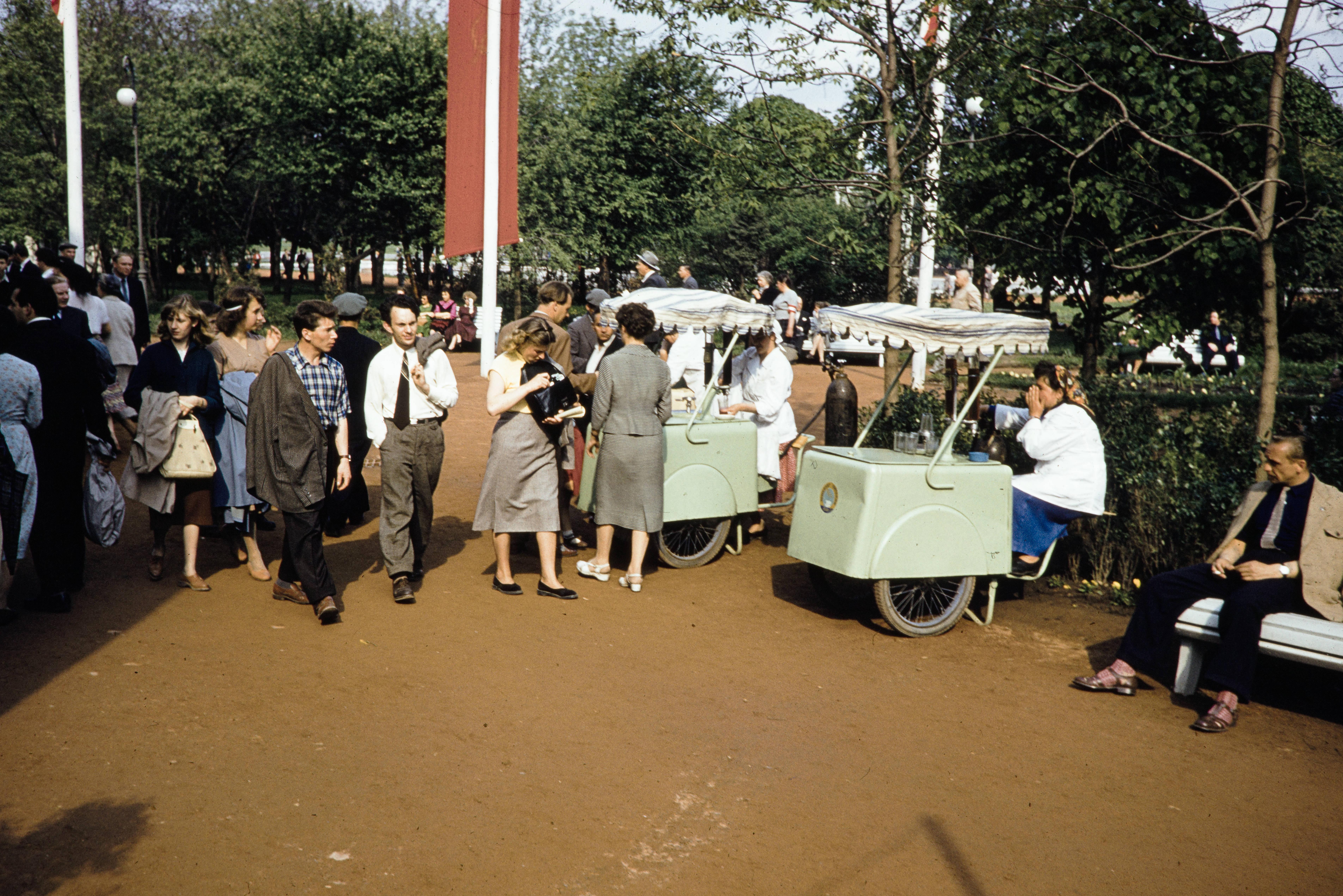 Продажа газированной воды в ЦПКиО