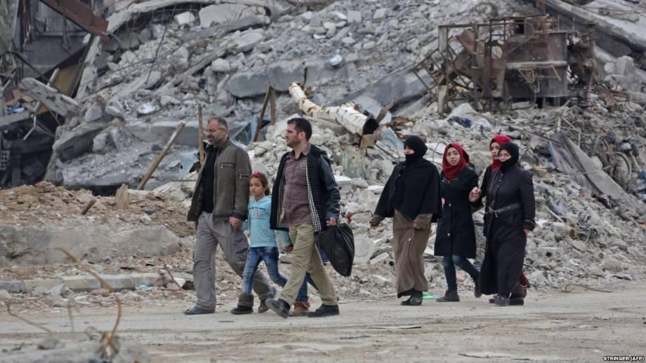 Сирия: последнее повстанческая группировка начало покидать Восточную Гуту