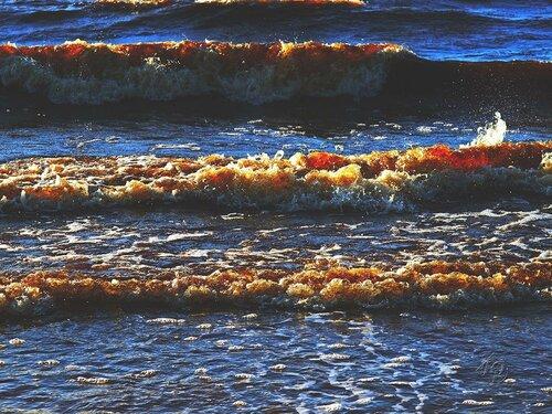 Три    разных волны