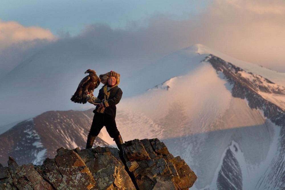 беркуты Монголия охота птицы фотограф
