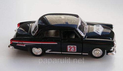 Машинка металлическая ГАЗ-21 СССР