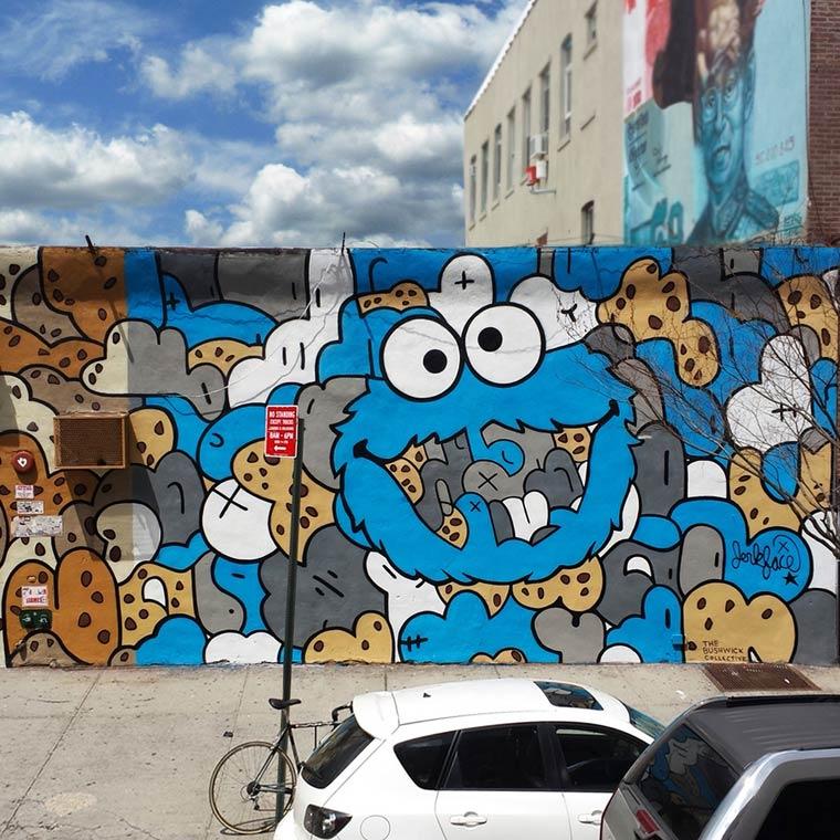 Jerkface – Between street art and pop culture