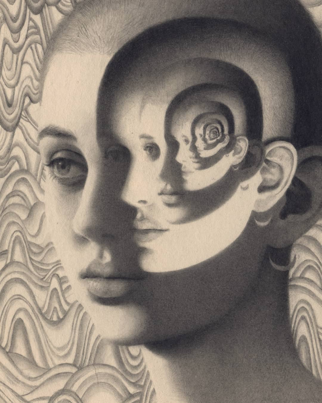 oil Portrait portraits graphite
