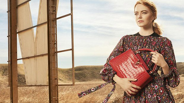Emma Stone is the Face of Louis Vuitton Spirit of Travel 2018