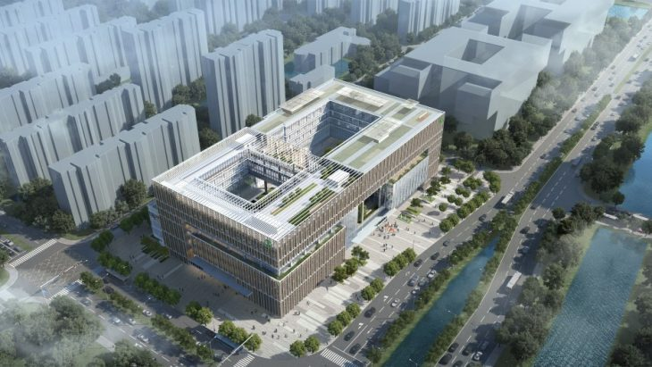 Ningbo Agricultural Bank of China by RMJM RED