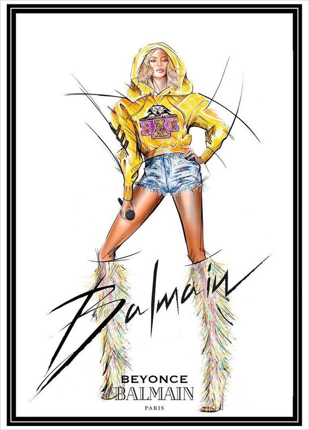 COACHELLA 2018: BEYONCE x BALMAIN