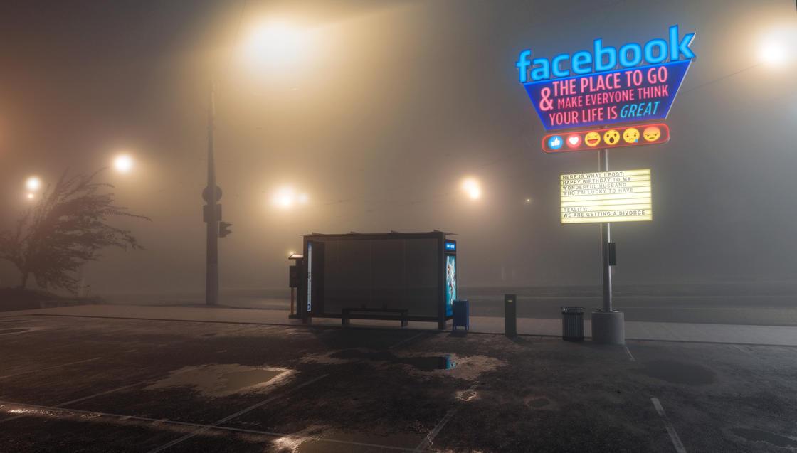 ANTISOCIAL – L'ironie de la solitude sur les reseaux sociaux (12 pics)