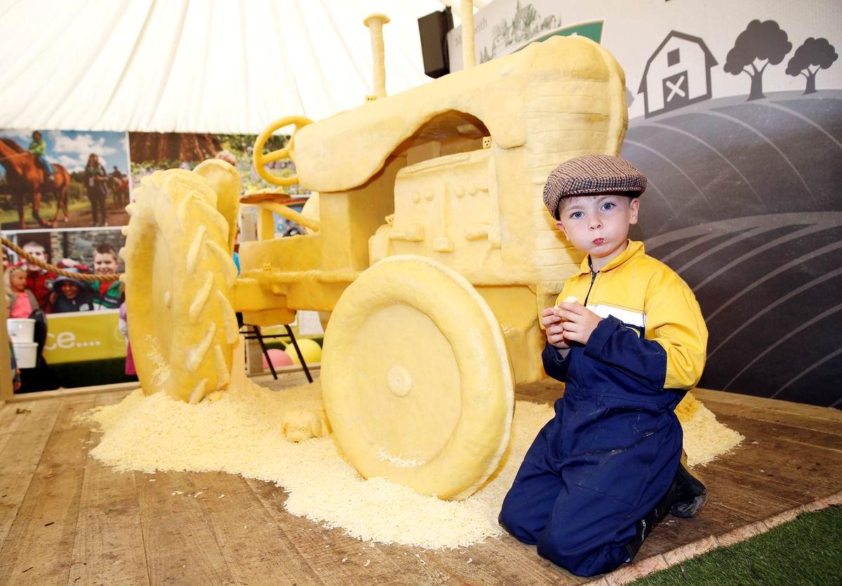 Ты можешь скушать трактор? Могу, если он из сыра!: Такие вкусные ирландские поделки