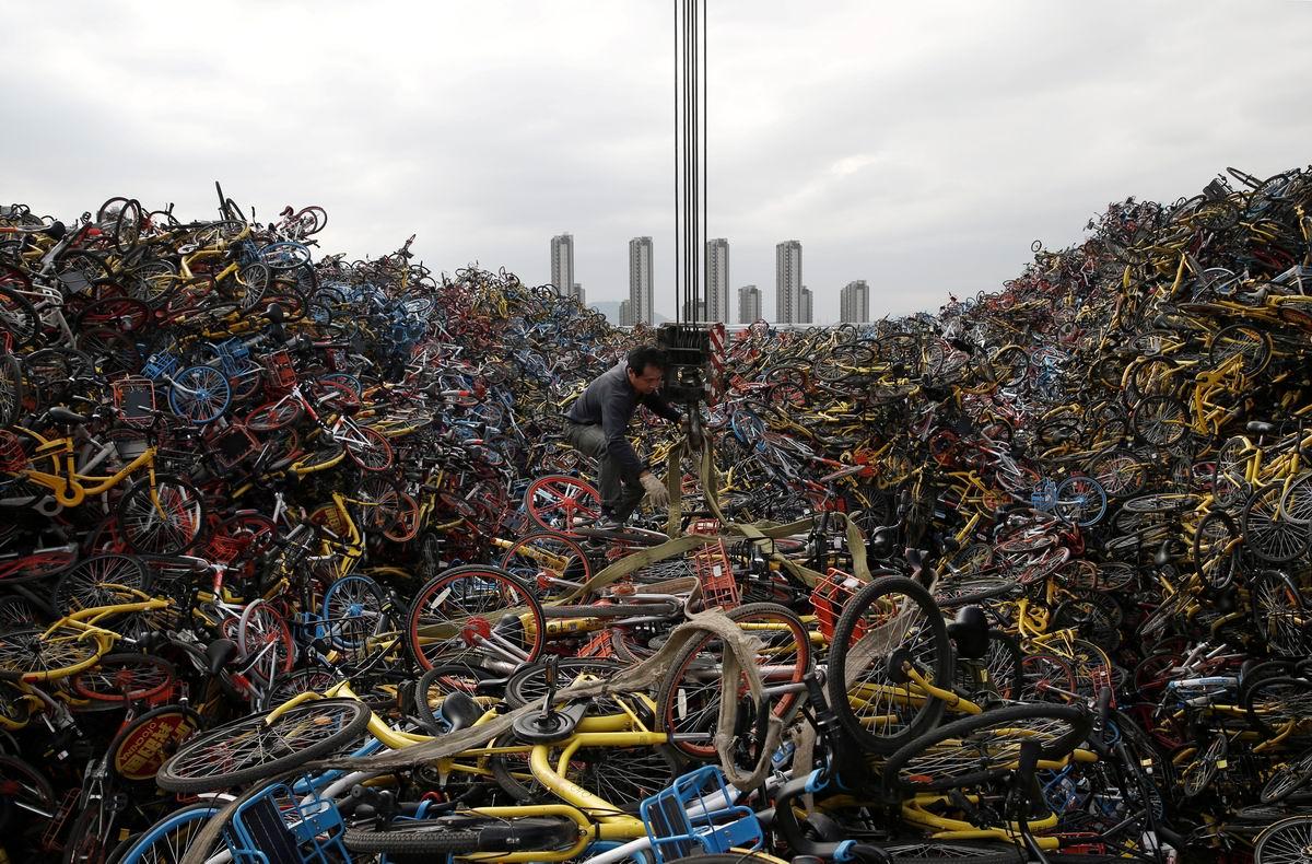 Как много великов хороших: На китайском велосипедном кладбище