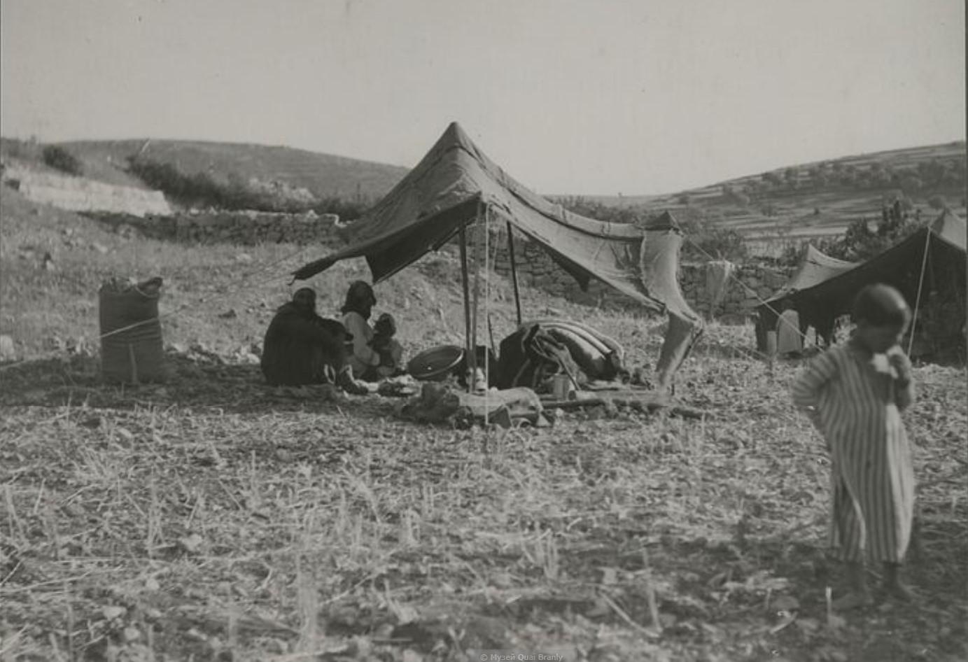 Стоянка бедуинов неподалеку от Хайфы