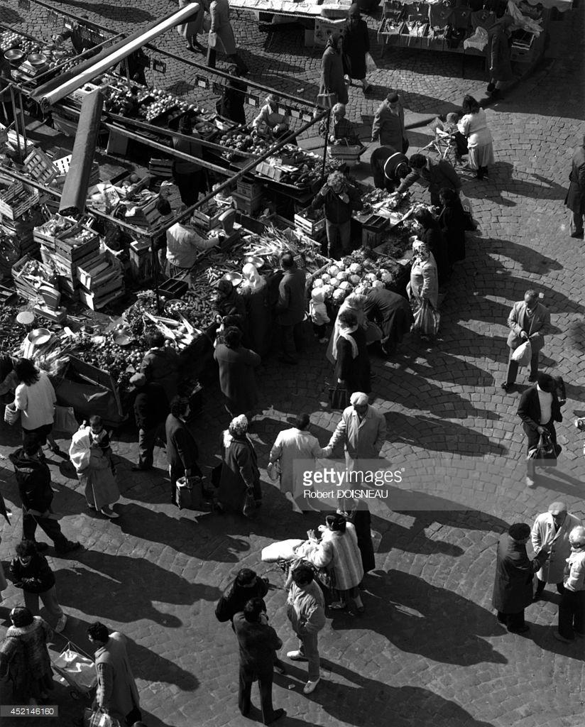 1986. Рынок, площадь Жана Жореса в Сен-Дени