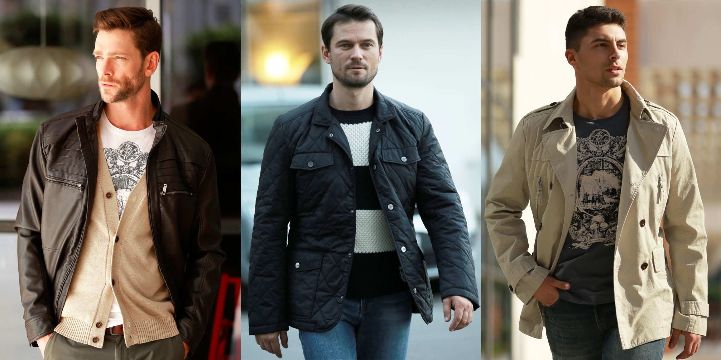 Демисезонные мужские куртки — отличная альтернатива пиджакам и спортивным костюмам (1 фото)