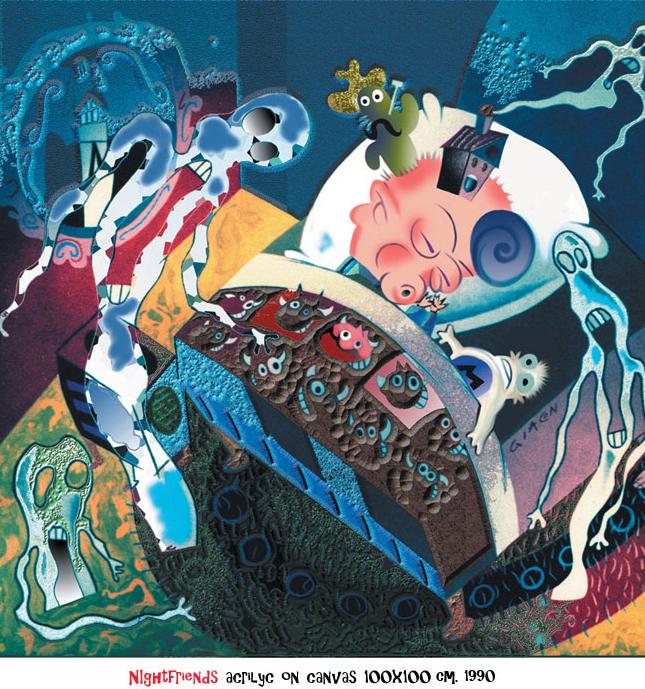 Conheca o quadrinista italiano Massimo Giacon