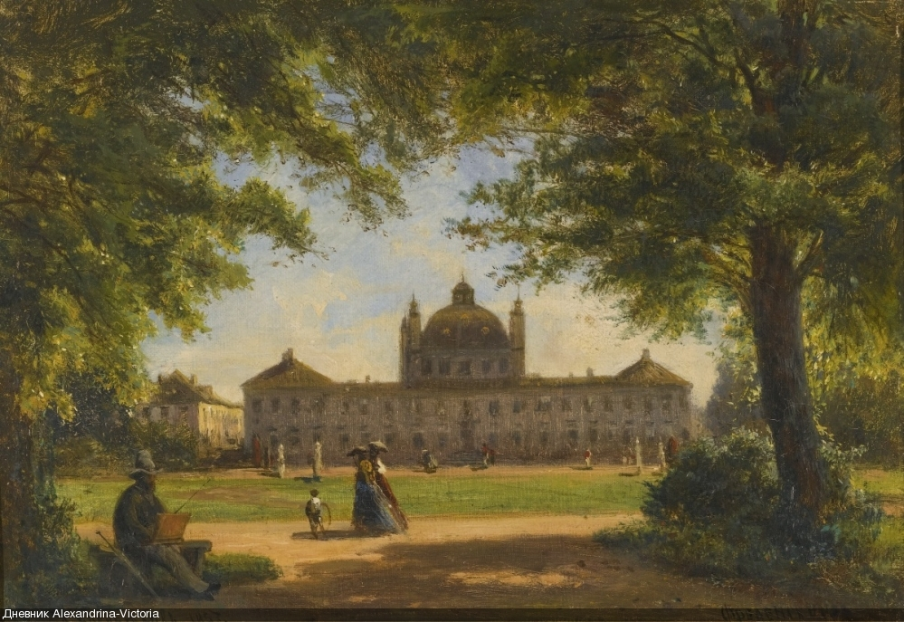 VIEW OF FREDENSBORG PALACE, 1857