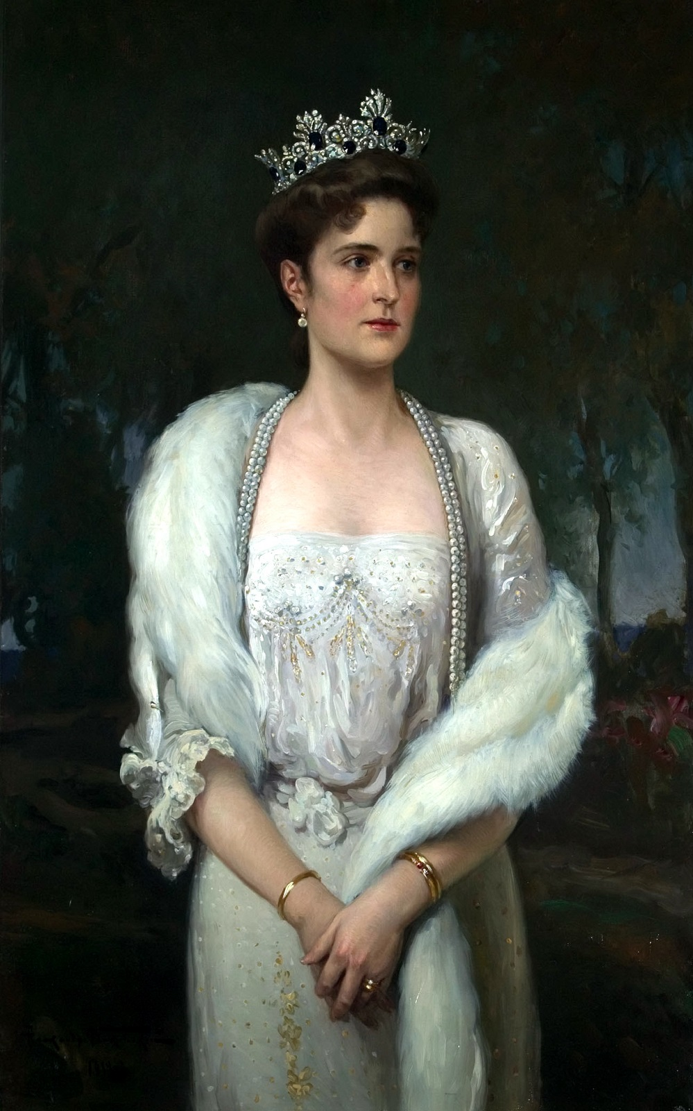 Портрет императрицы Александры Федоровны.