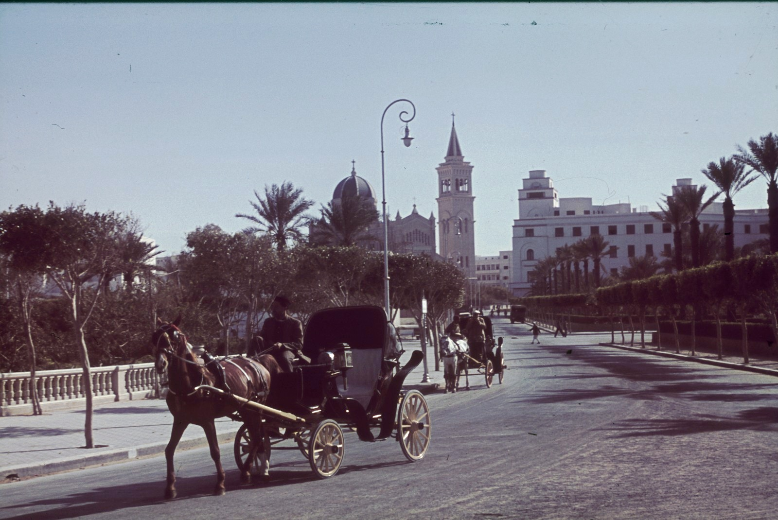 Триполи. Уличная сцена