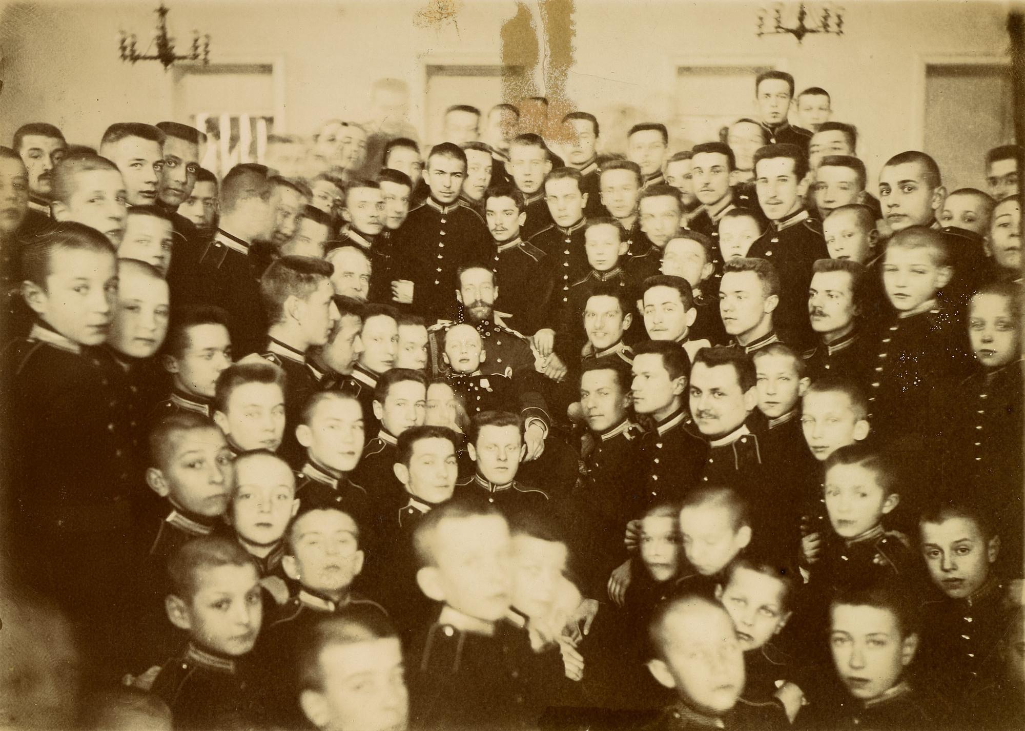 Великий князь Константин Константинович в Первой Московской кадетской школе 1901