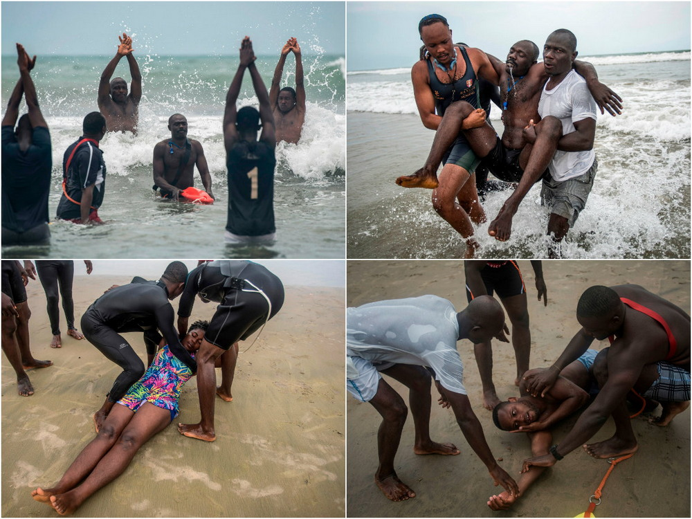 Против течения: спасатели в Гане