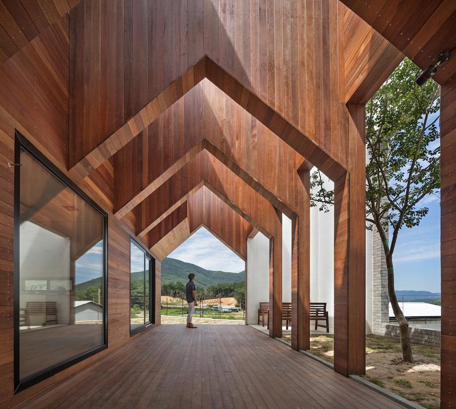 Surprising Geometric Home In Korea