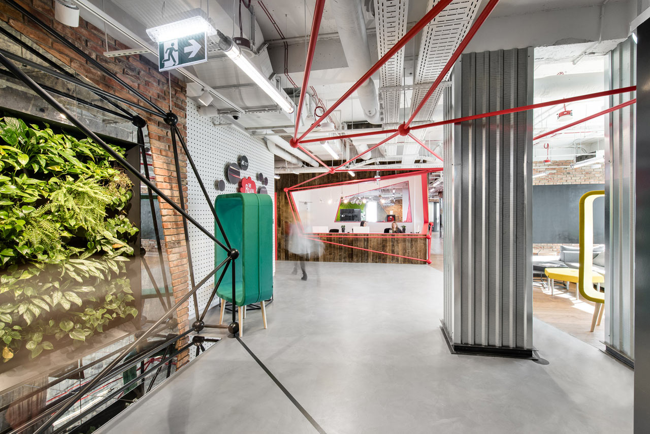 Creative Brain-Themed Co-Working Space in Warsaw (14 pics)